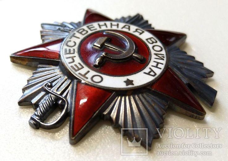 Орден ОВ 2 юбилейный.  Одно из последних награждений., фото №4