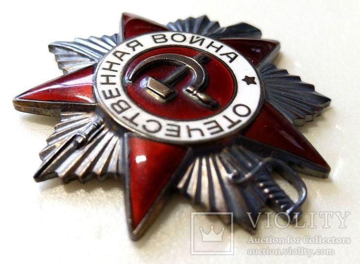 Орден ОВ 2 юбилейный.  Одно из последних награждений., фото №5