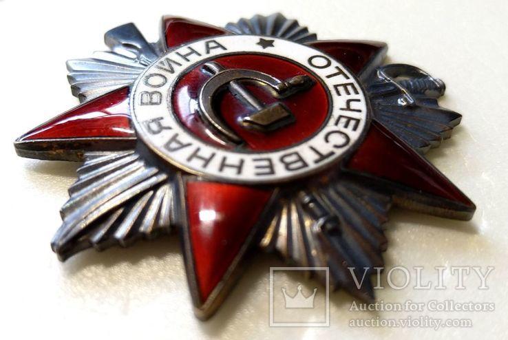 Орден ОВ 2 юбилейный.  Одно из последних награждений., фото №6