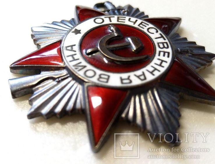 Орден ОВ 2 юбилейный.  Одно из последних награждений., фото №7