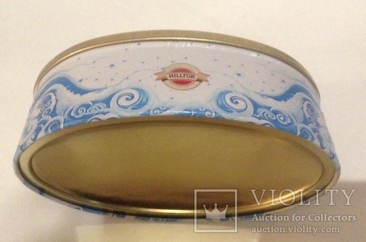 Коробка от конфет Снежная Королева. Металл, жесть., фото №5