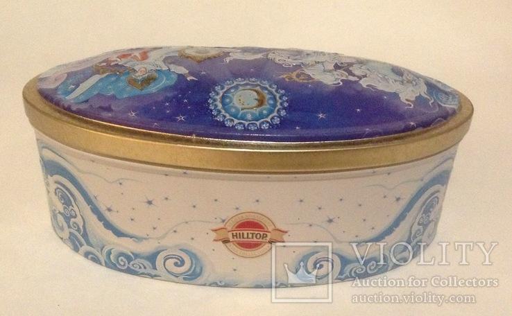 Коробка от конфет Снежная Королева. Металл, жесть., фото №6