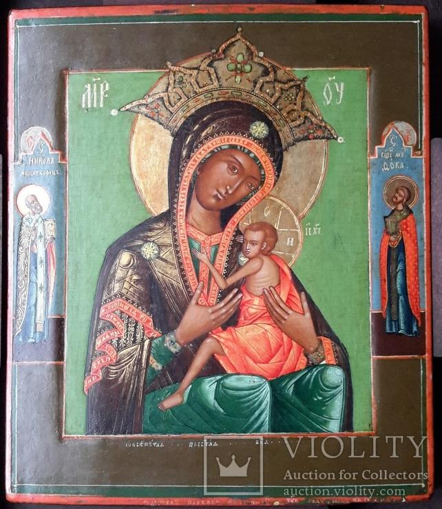 Богородица Овсепетая, подписная, датированная, фото №2