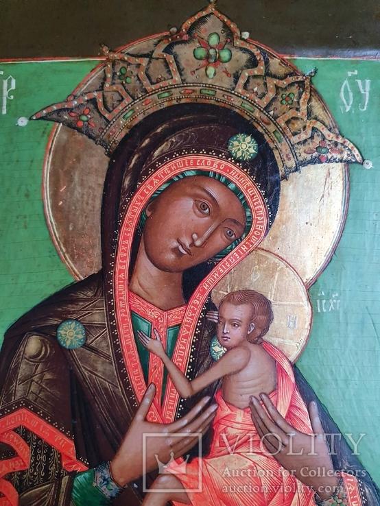 Богородица Овсепетая, подписная, датированная, фото №5