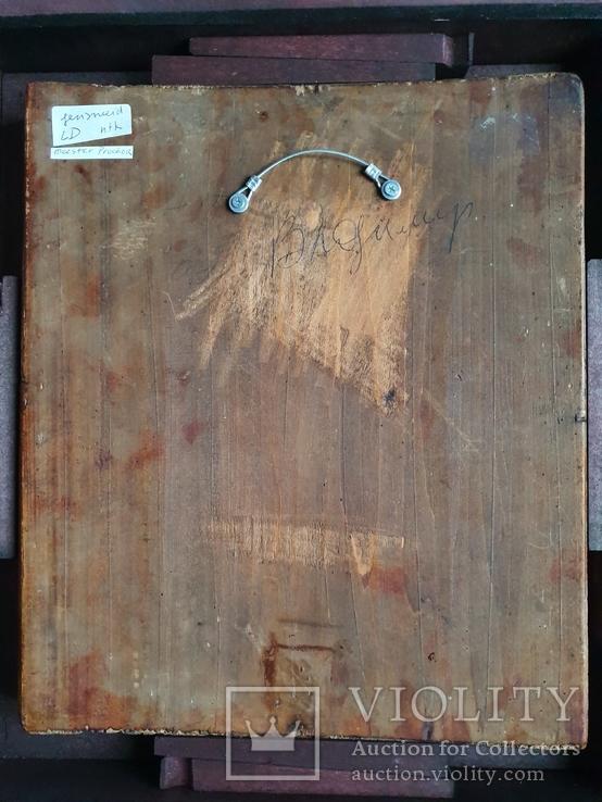 Богородица Овсепетая, подписная, датированная, фото №6