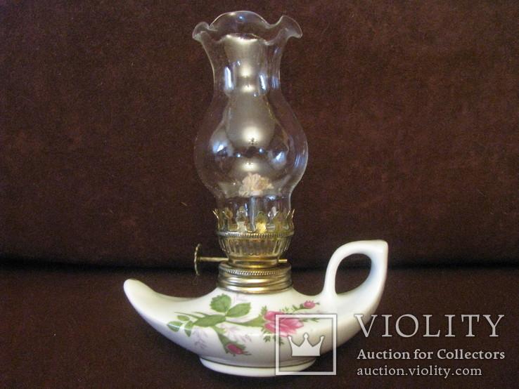 Лампа коллекционная - керосиново-маслянная., фото №2