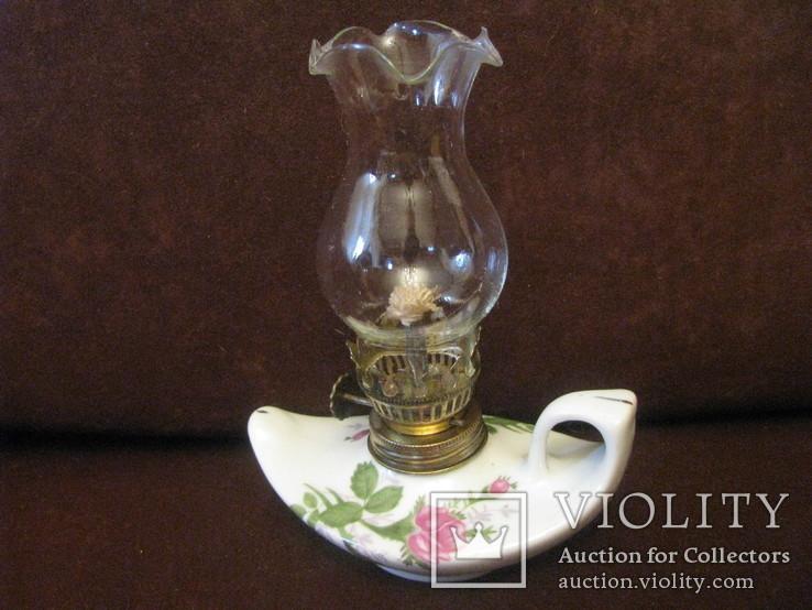 Лампа коллекционная - керосиново-маслянная., фото №3