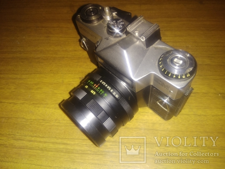 Фотоаппарат Зенит ЕМ Helios-44М, фото №3