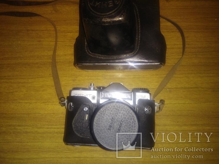 Фотоаппарат Зенит ЕМ Helios-44М, фото №8