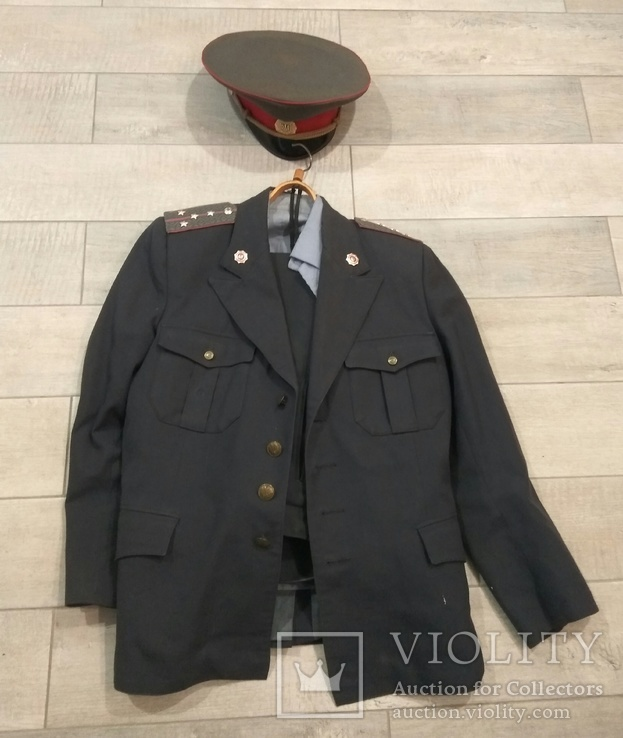 Форма капитана милиции