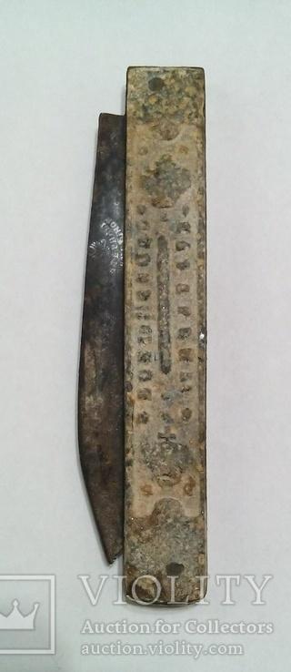Царский складной нож. Клеймо. 1872 года.