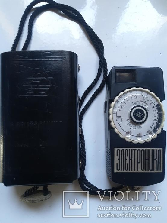 Фотоэлектрический экспонометр + фотовспышка, фото №3