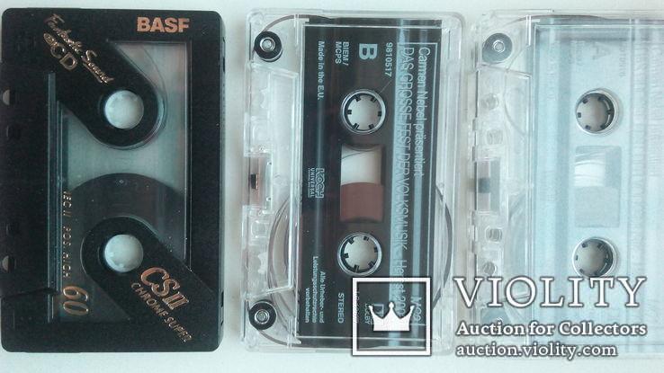 Три аудиокассеты с записью, фото №3