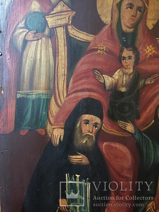 Икона БМ Печерская, фото №4
