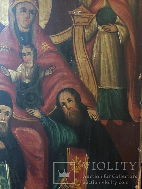 Икона БМ Печерская, фото №5