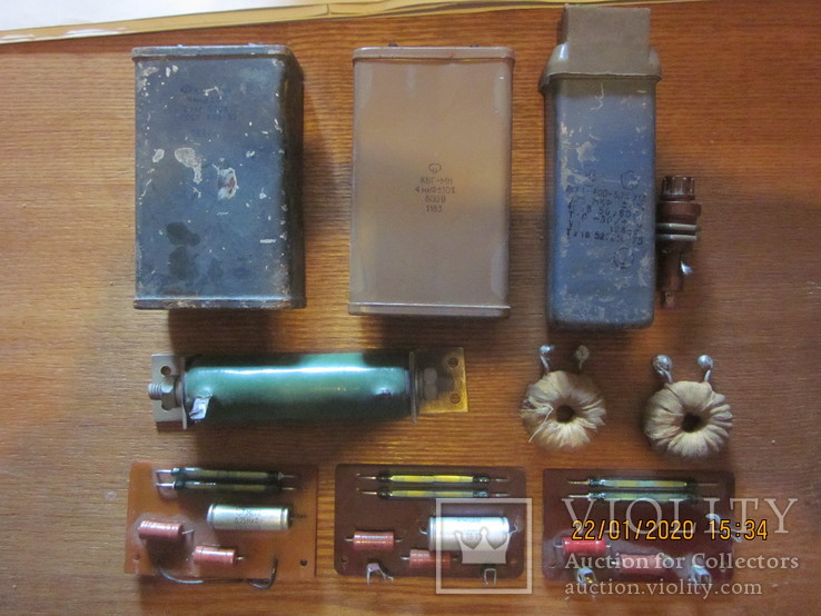 Конденсаторы кбг, псб, резистор, герконы., фото №2