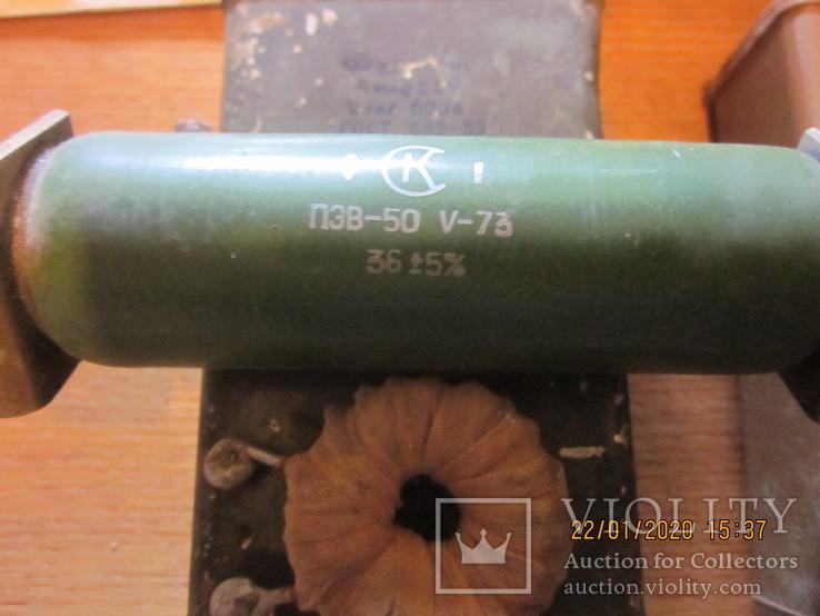 Конденсаторы кбг, псб, резистор, герконы., фото №8
