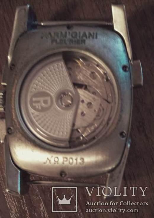 Часы  копия Рarmigiani Fleurier po13, Швейцария с кожаным ремешком, фото №5