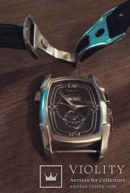 Часы  копия Рarmigiani Fleurier po13, Швейцария с кожаным ремешком, фото №9