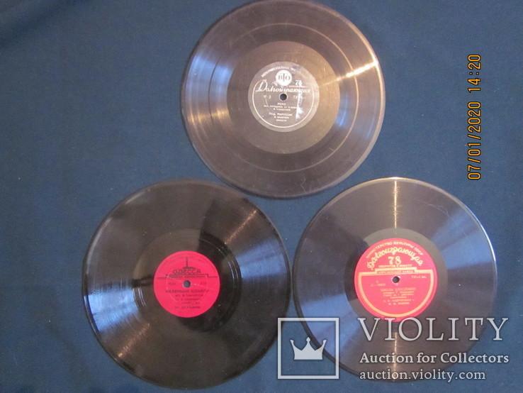 Пластинки для патефона., фото №2