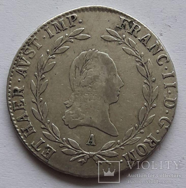 20 крейцеров 1806 г., фото №2