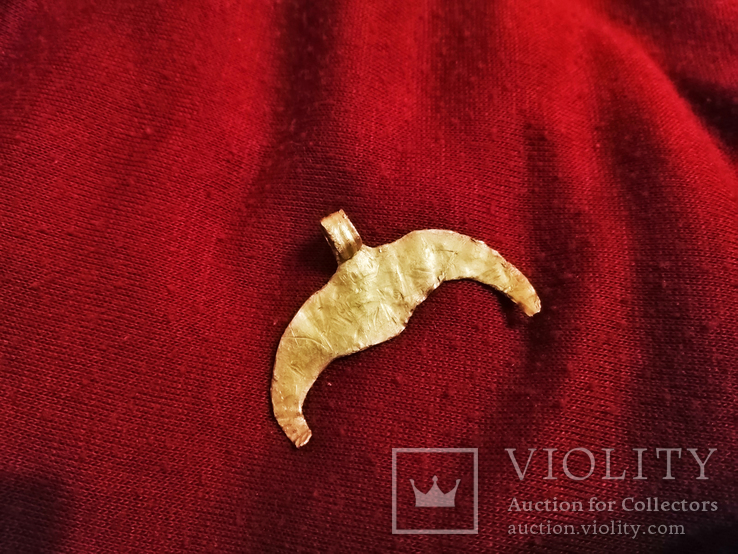 Античная Золотая Лунница., фото №8
