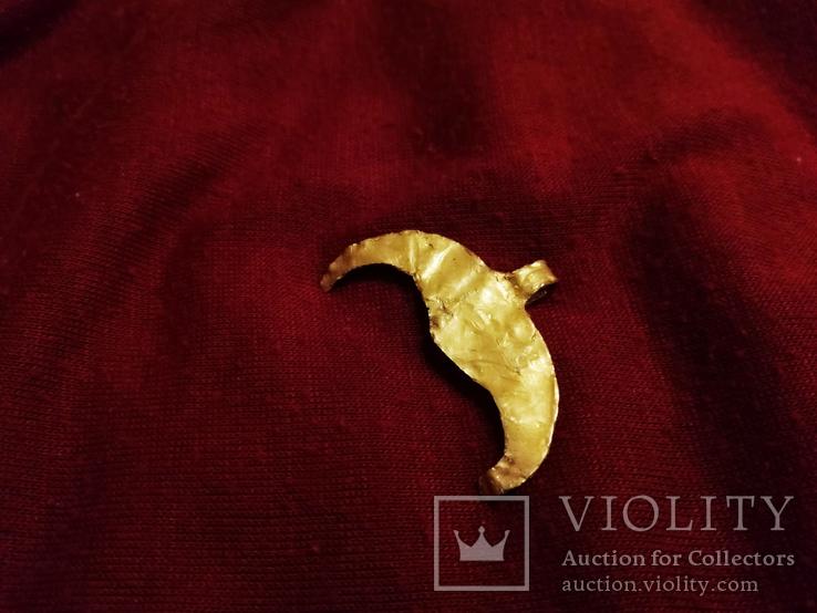 Античная Золотая Лунница., фото №9