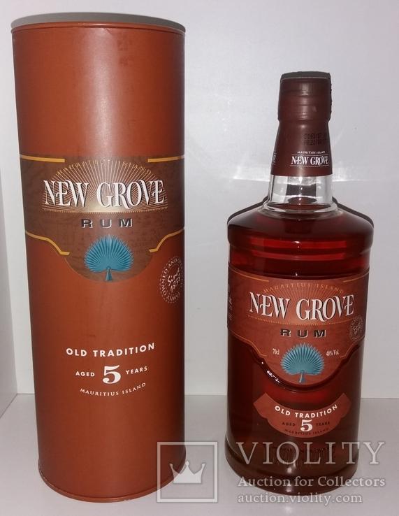 Ром New Grove Old Tradition 5 y.o., о.Маврикий, фото №2