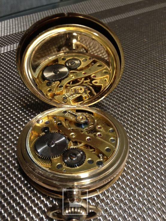 Часы savonette позолоченные