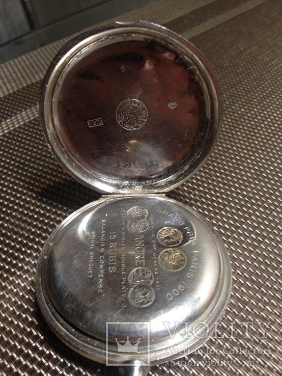 Часы zenith серебряные, фото №2