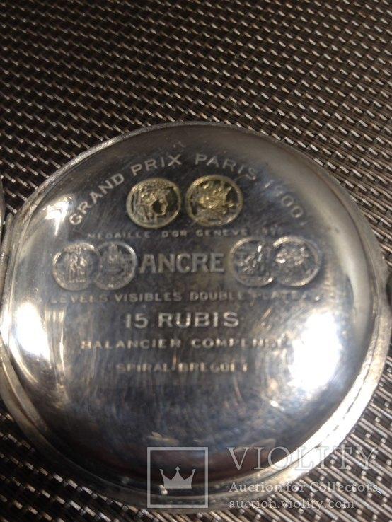 Часы zenith серебряные, фото №6