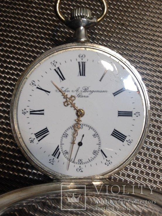Часы zenith серебряные, фото №9