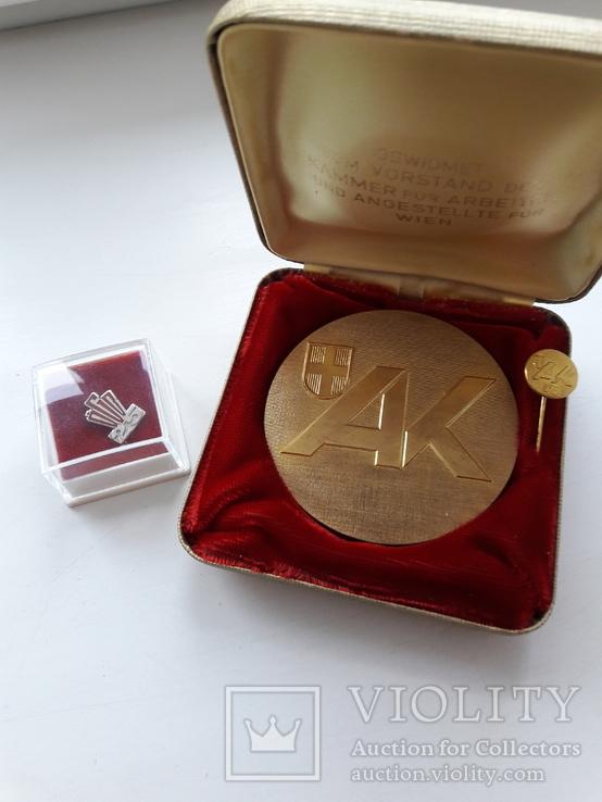 Медаль і значок Австрія, фото №2