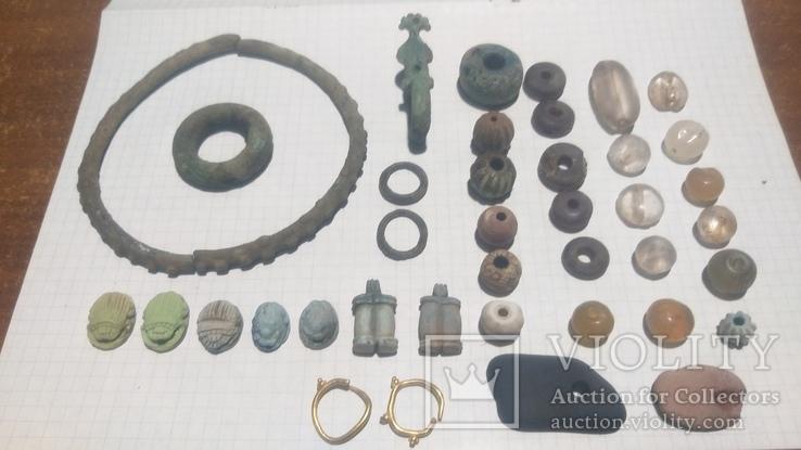 Коллекция украшений скифского периода