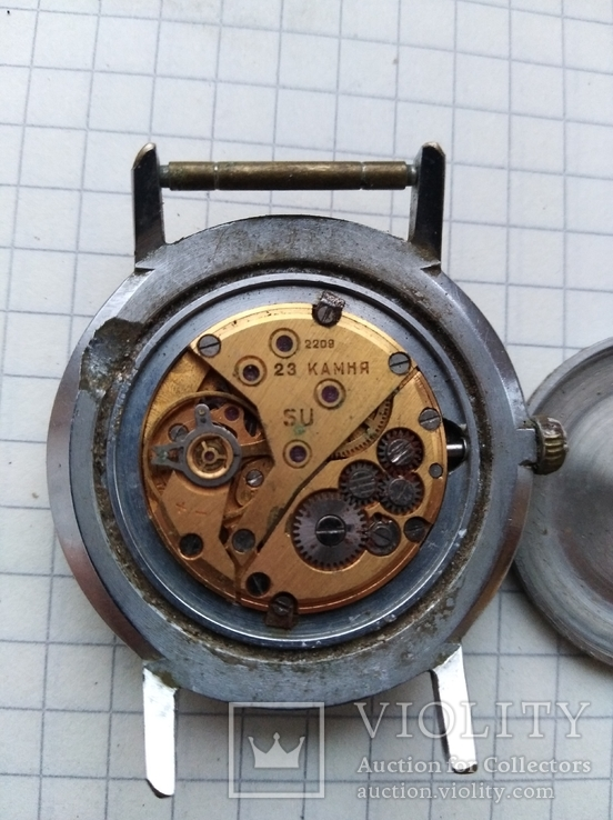 Часи луч механизм позолота, фото №3