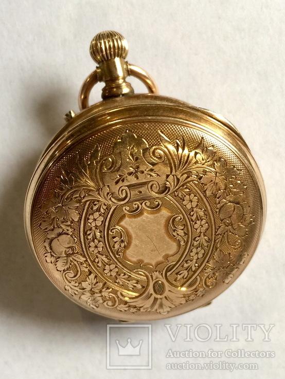 Золотые часы 19 в. Швейцария.