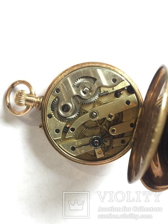Золотые часы 19 в. Швейцария., фото №5