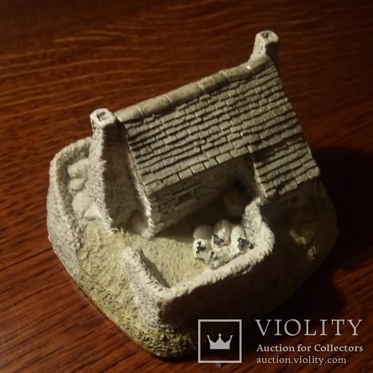 Lilliput Lane домик в Шотландии с овечками The Croft, фото №3