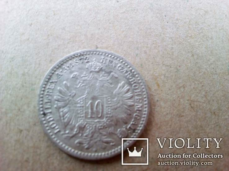 10 крейцеров 1872 год, фото №7