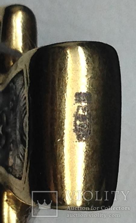 Крестик, позолота, фото №4