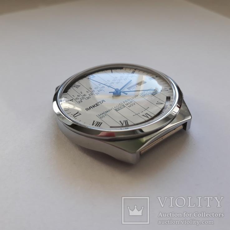 """Годинник Ракета """"вічний календар"""" Новий, фото №7"""