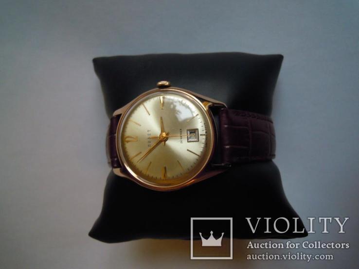 Золотые часы Полет 583, фото №6