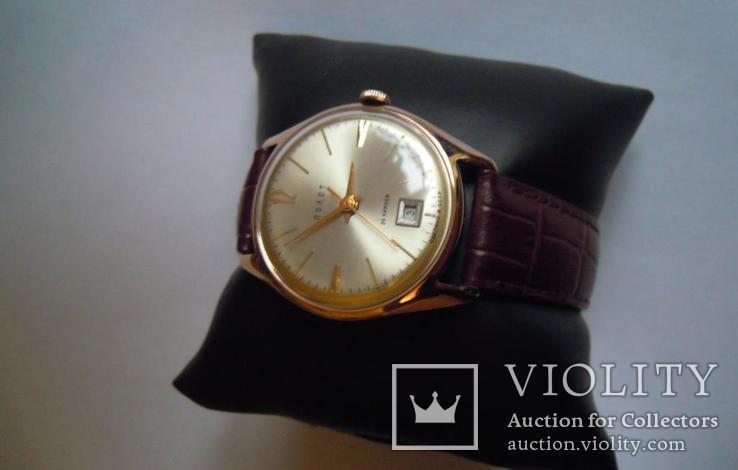 Золотые часы Полет 583, фото №7