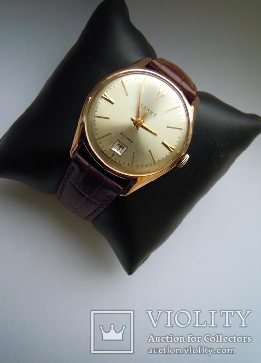 Золотые часы Полет 583, фото №8