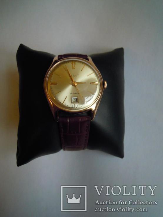 Золотые часы Полет 583, фото №9