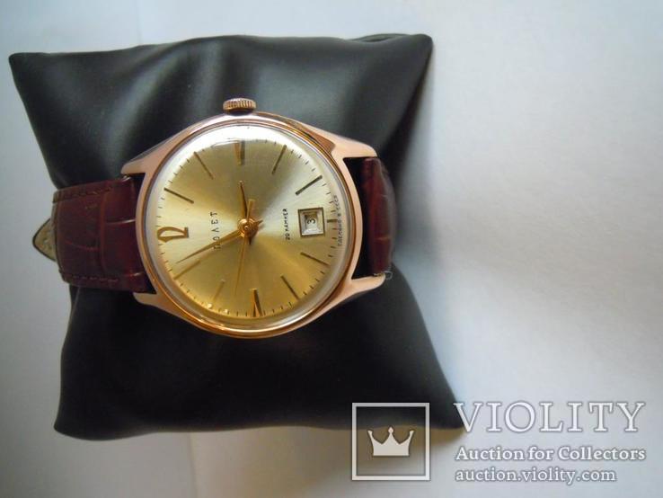 Золотые часы Полет 583, фото №10