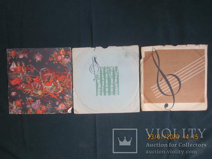 Пластинки Трошин, Суржиков..., фото №2