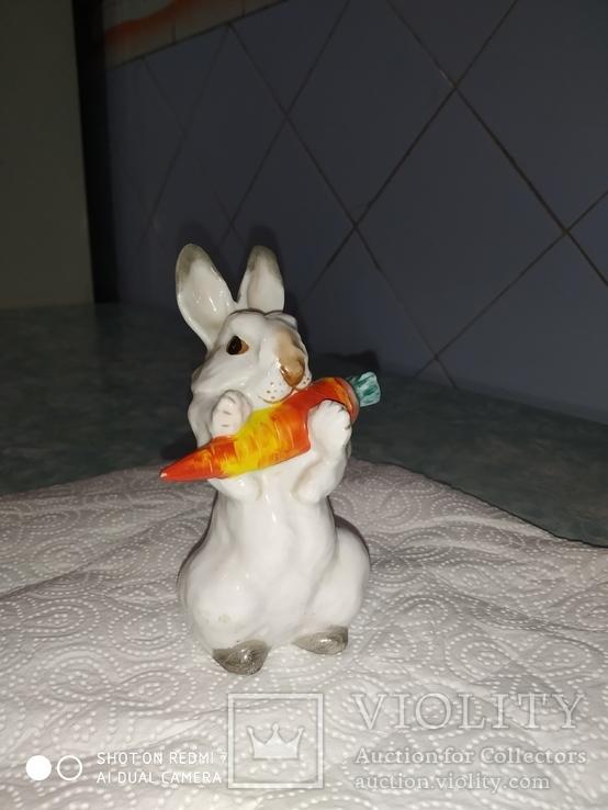 Заяц с морковкой ЛФЗ, фото №3