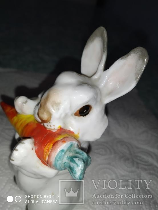 Заяц с морковкой ЛФЗ, фото №5