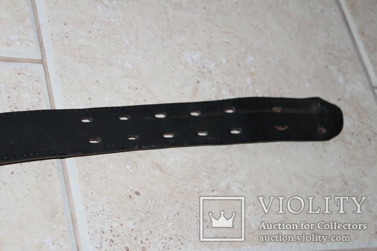 Ремінь DIESEL з печаткою, довжина шкіри 94,5 см., фото №5